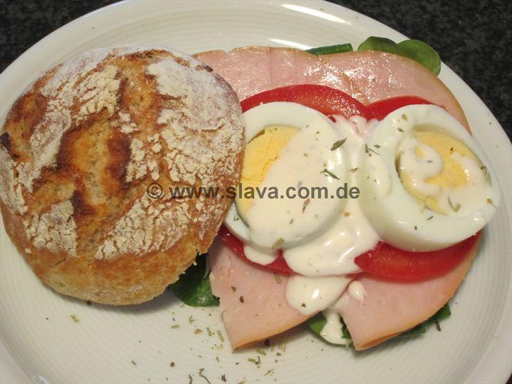 Ruckzuck-Kartoffel-Brötchen Nr. 3 mit Vollkornmehl « kochen & backen leicht gemacht mit Schritt für Schritt Bilder von & mit Slava