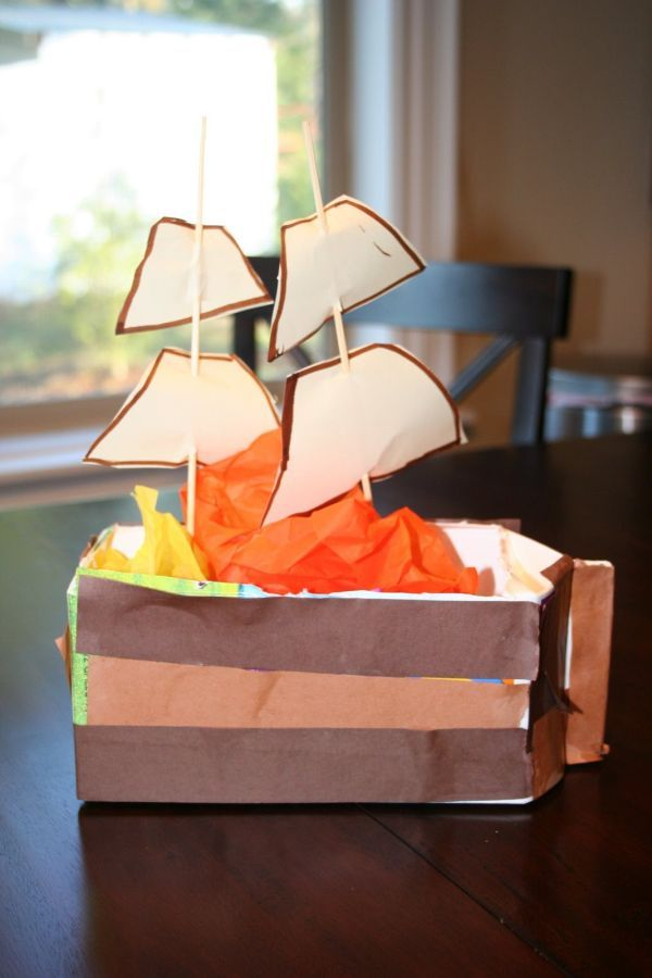 My Favorite Mayflower Craft Ideas for Thanksgiving