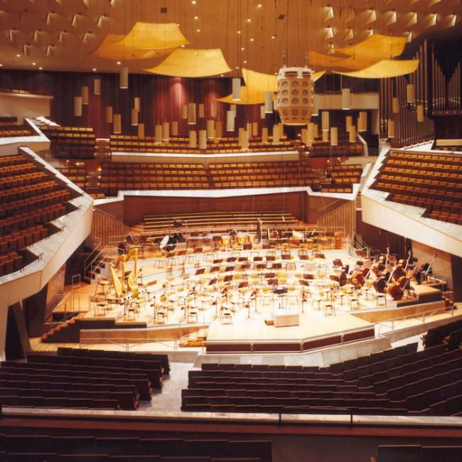 Berliner Philarmonie Concert Hall