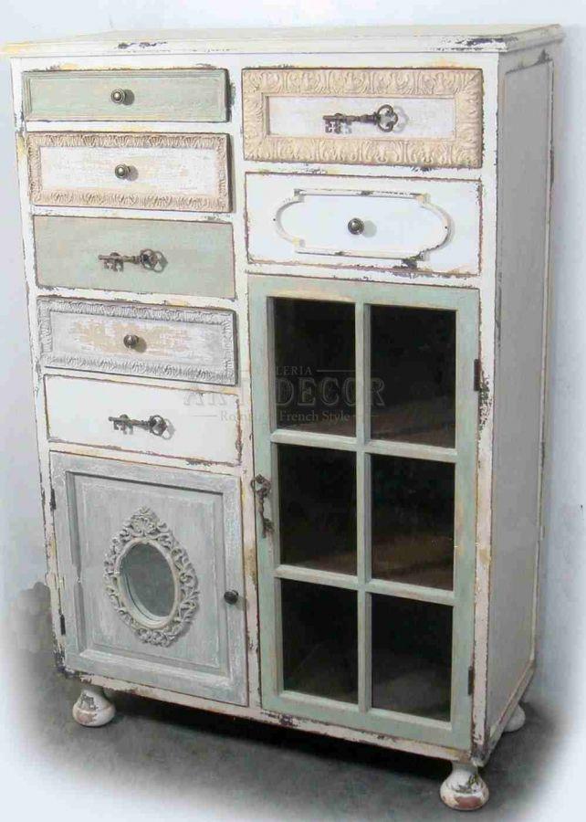 Las 25 mejores ideas sobre peque o aparador en pinterest - Muebles vintage malaga ...