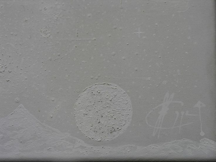 Universo en Blanco Metacromía (Detalle) Acrilic/Canvas 2013