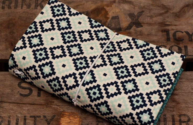 aDORible - aztec blue by cottonandpaperco on Etsy
