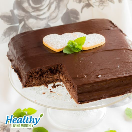 Chocolate Xtreme Cake from the October 2015 issue of Healthy Living Monthly newsletter: https://gum.co/sOvPr