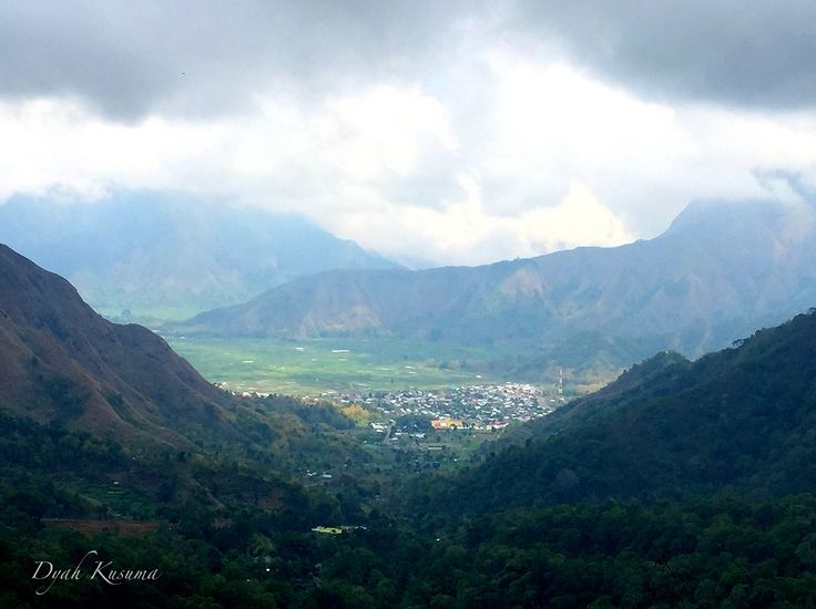 Sembalun, East Lombok, Indonesia