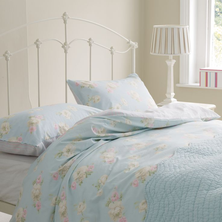 Bramwell Floral Cotton Bedlinen at Laura Ashley  Bedding