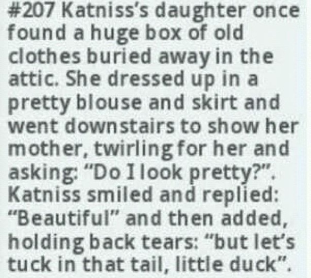 FEEELS. Did not need these feels. AND WHAT IF IT'S THE SAME CLOTHES PRIM WAS WEARING THAT FATEFUL REAPING DAY?