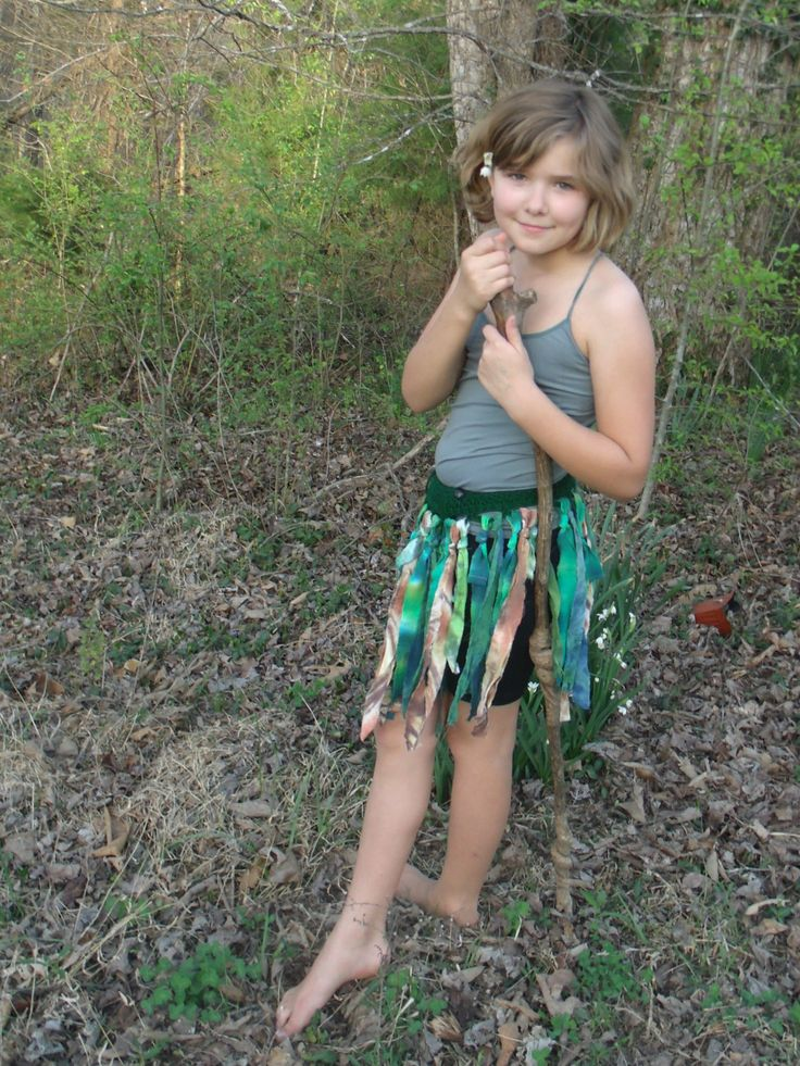 Daughter Earth Kid Sized Fairy Wrap Skirt Child Sized