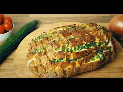 Leckeres Zupfbrot mit Käse und Knoblauchbutter - herrlich rustikal!