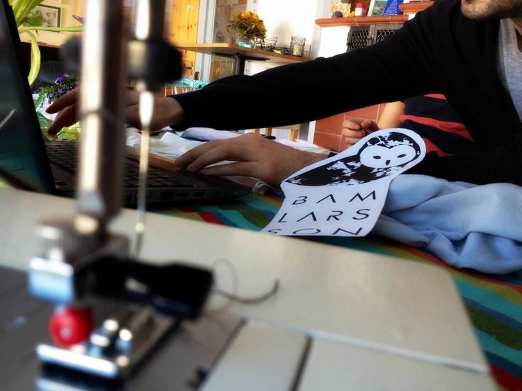 testing the new designs #ecofashion #design