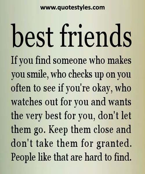 People Like That Are Hard To Find- Friendship Quotes