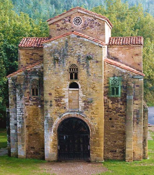 Arquitectura Asturiana. San Miguel de Lillo.