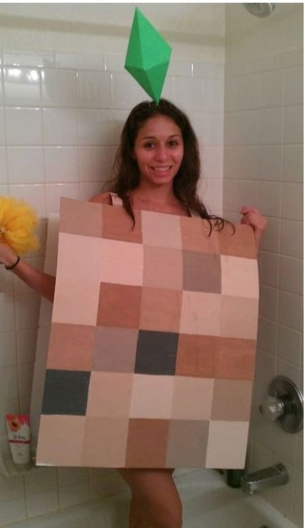 Pixelated sims cosplay on global geek news gaming for Awesome sims