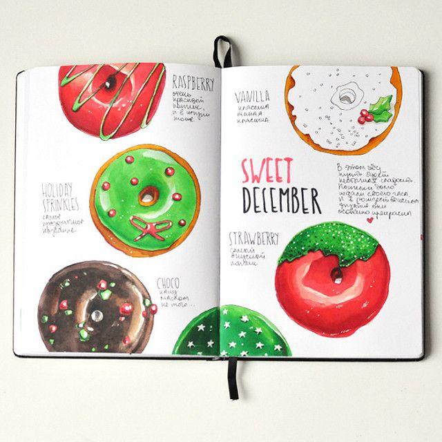 Donuts   by Anna Rastorgueva