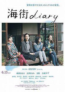 Our Little Sister. Japan. Haruka Ayase, Masami Nagasawa, Kaho, Suzu Hirose. Directed by Hirokazu Koreeda. 2015