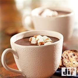 Chocolate #Hazelnut #HotChocolate from Jif®