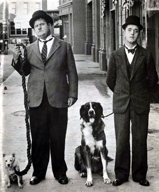 Bonecos Gordo e o Magro / Doll of Oliver Hardy & Stan Laurel