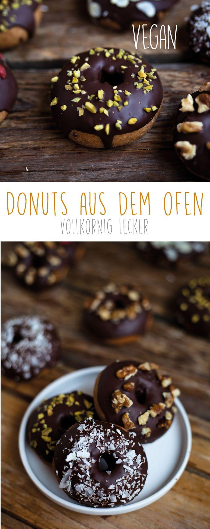 Vollkorn Donut aus dem Ofen