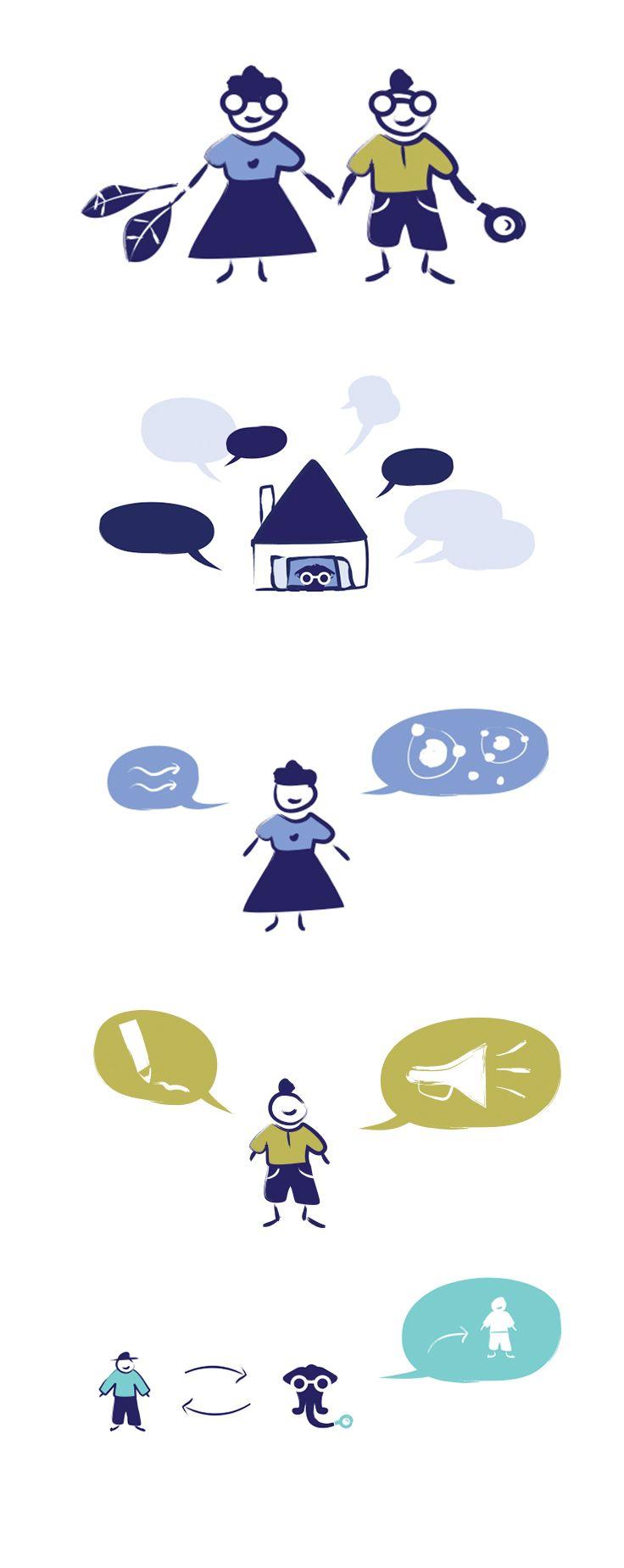 Daniel – illustrations for the Catalogue Database / Medialab / Graphic Designer: Anna Bil