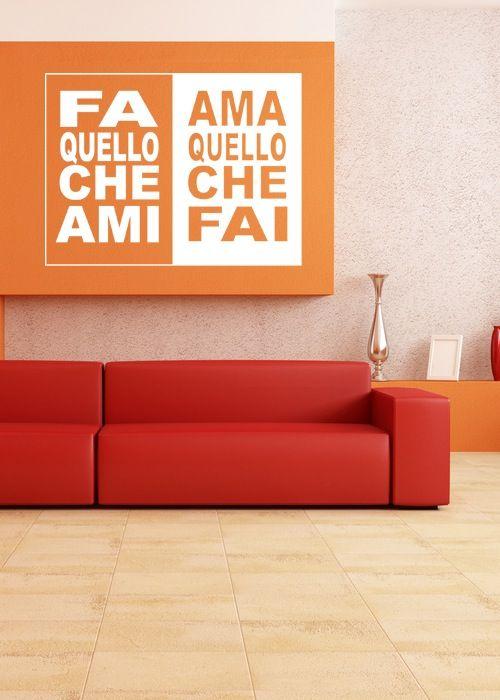 Ufficio dolce ufficio - Arreda con le scritte motivazionali - Fa | Ama