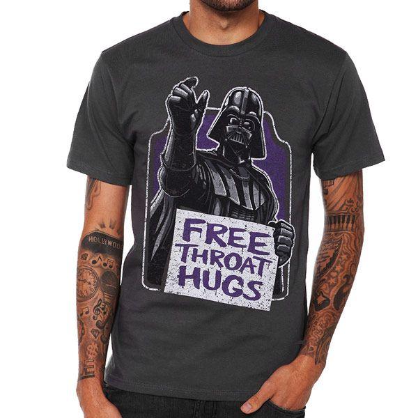 Star Wars Darth Vader Throat Hugs Shirt