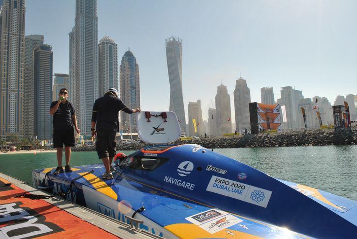 Navigare sponsor del Team Al&al a Dubai