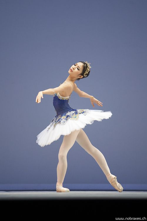 Kono Mai in Prix de Lausanne, 2007 ~ Photo by Thierry Jayet