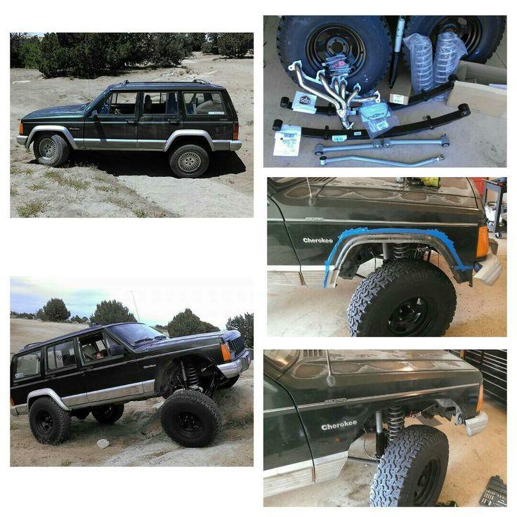 Jeep xj build