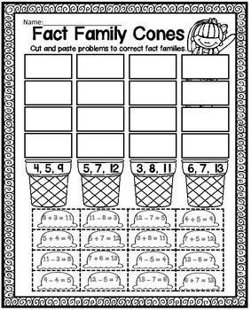 17 Best images about Teaching - Math: Fact Families on Pinterest ...