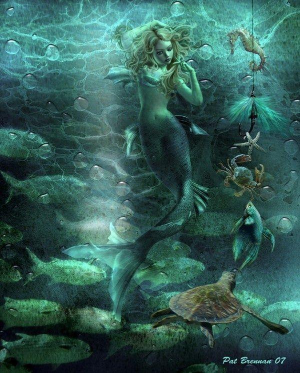 Nackte sexy Meerjungfrauen #5