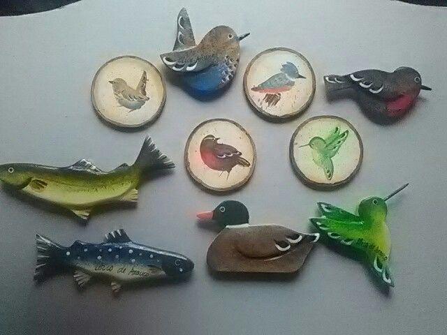 peces y aves tipicas de de la zona de Arauco y alrededores. Region del bio bio, Chile