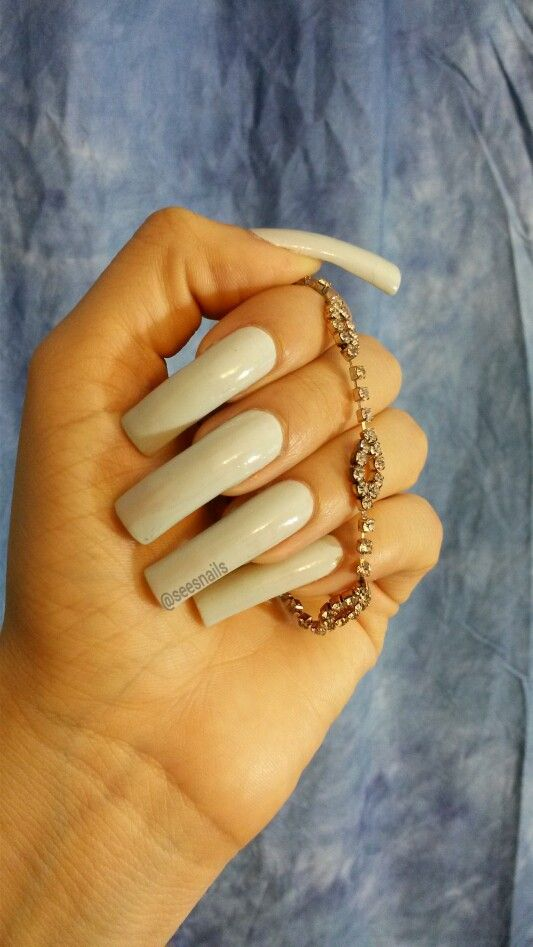 #flossgloss #seesnails #longnaturalnails #realnails | Sees Nails in 2018 | Pinterest | Nails, Long nails and Natural nails