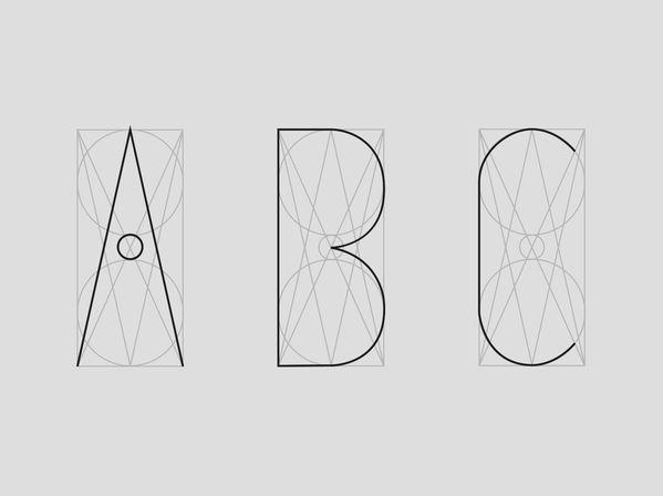 Circumactio Typeface by Lucas Blat, via Behance