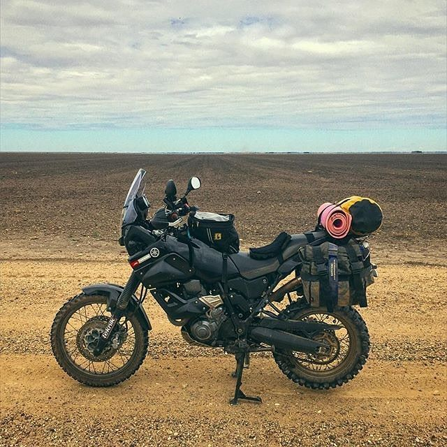 """2,132 Likes, 17 Comments - ADV ADDICTS Moto Apparel Co. (@advaddicts) on Instagram: """"The (Off) Road Warrior, @aus_advrider #advaddicts #madmax  Photo ©: @aus_advrider  #australia…"""""""
