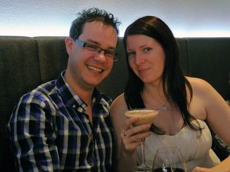 Engagement lunch - instead of having a full engagement party we decided just to take our immediate families out to lunch. I decided to have a Toblerone cocktail... the photo is more for the drink than my new fiance