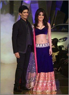Stars shine in MANISH MALHOTRA Designs https://www.facebook.com/manishmalhotrapage ✽ https://twitter.com/ManishMalhotra1 PRIYANKA, Click through Pic for more