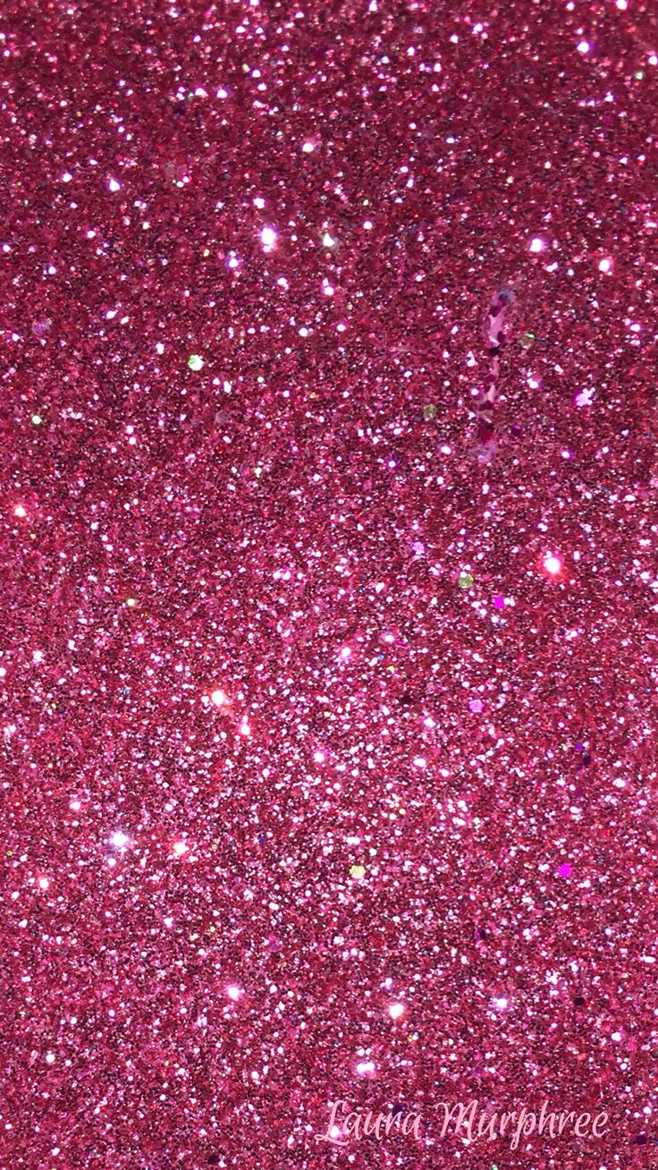 Glitter phone wallpaper pink sparkle background girly pretty hot pink