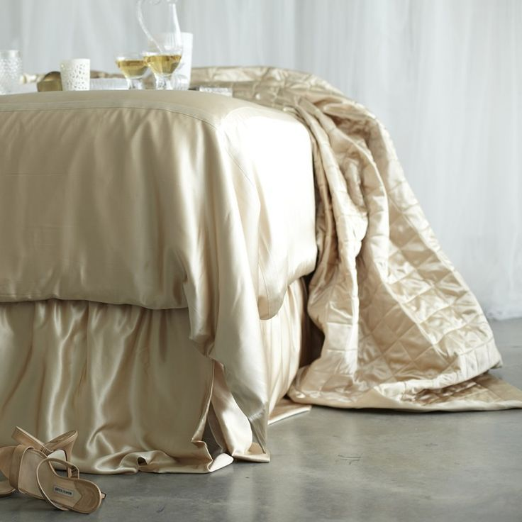 Silk Quilts & Coverlets From Manito Luxury Silk Bedding - $699.00   www.manitosilk.com