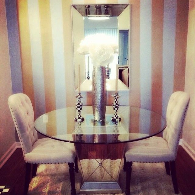 Our Waterloo Dining Chairs & Borghese Round Dining Table