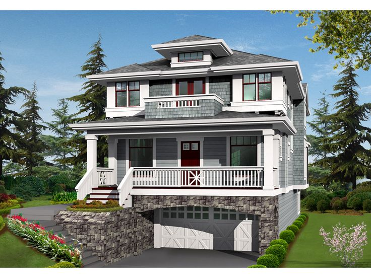 17 best ideas about two story homes on pinterest two for Two story craftsman