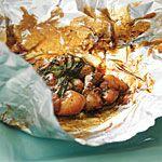 Foil-wrapped Ginger Chicken Recipe | MyRecipes.com
