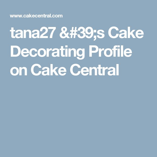 Cake Decorating Central Hours : Best 25+ Cake Central ideas on Pinterest Blaze birthday ...