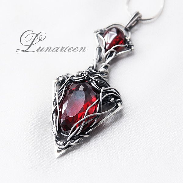 Hand Made, Sterling Silver, Wire Wrapped, Gemstone Jewelry