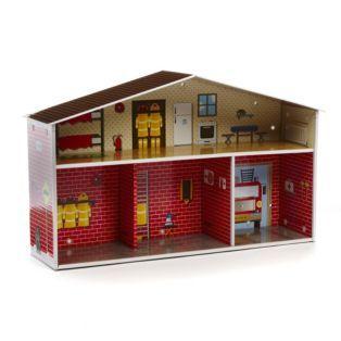 Caserne de pompier à monter Caserne - Les jeux et jouets - Alinea