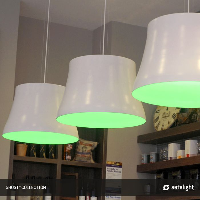 22 best green pendant lights images on pinterest hanging lamps restaurants cafes satelight lighting design custom made mozeypictures Image collections