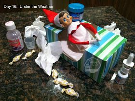 The Baking Sheet: Elf on the Shelf Pranks!