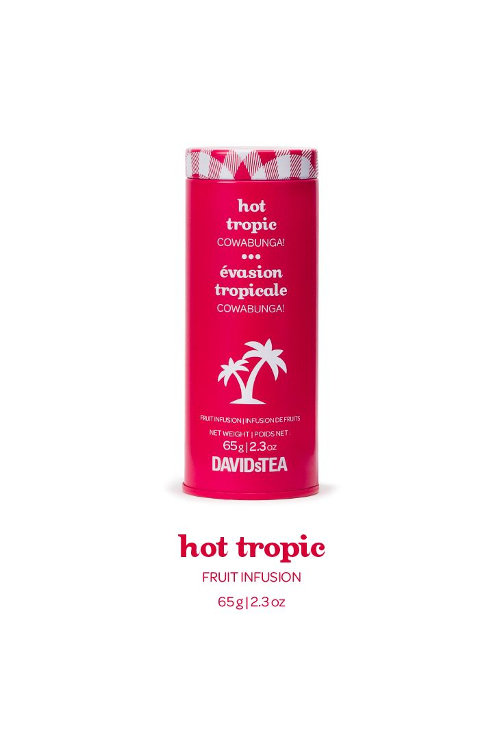 This blend of tropical fruit, coconut and spices is as sweet and creamy as a piña colada.