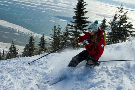 Charlevoix's Le Massif, highest vertical in eastern canada. This resort's got it all, snow, vert, steeps, and nice après ski