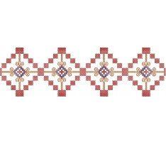 Výšivka Dačov lom, 21x6 cm