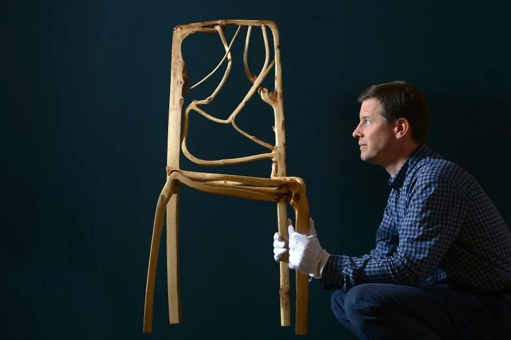 Full Grown: Trees Grown into Furniture and Art Objects