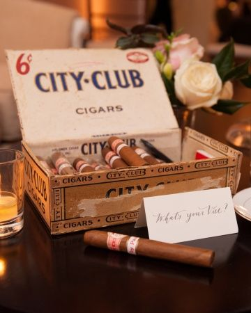 Late night quotvice stationquot with cigars and mini ice cream for Sandwiches on the dance floor